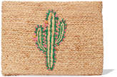 Hat Attack Whimsical Clutch Handbag in Cactus