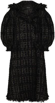 Simone Rocha Beaded Double-Breasted Coat