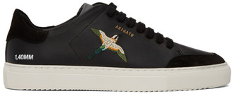 Axel Arigato SSENSE Exclusive Black Bird Clean 90 Sneakers