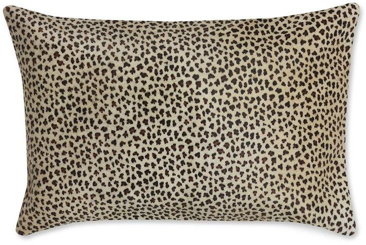 Williams-Sonoma Faux Cheetah Hide Pillow Cover