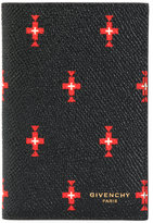 Givenchy cross print cardholder