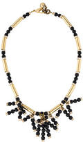 Lulu Frost Embellished Fringe Bead Necklace