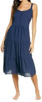 Thumbnail for your product : Nordstrom Romantic Swiss Dot A-Line Nightgown