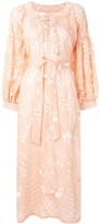 Bambah Alyssum floral embroidered dress