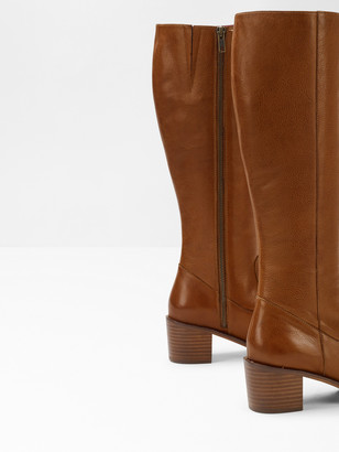 White Stuff Jenine Long Block Heel Boot