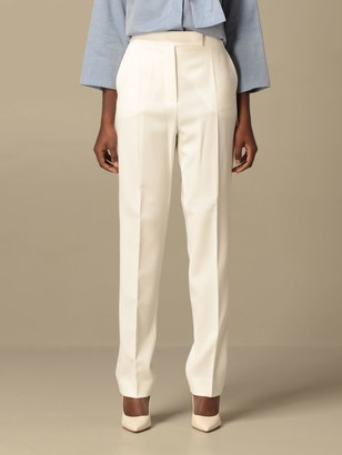 Max Mara Anny Trousers With Satin Bands