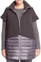 Marina Rinaldi Palio Quilted Long Jacket