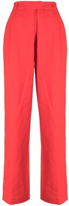 Mara Hoffman Eldra high-waist trousers
