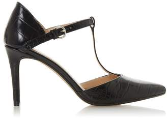 Head Over Heels Womens T-Bar Court Shoes - Black