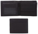 J By Jasper Conran Black Leather Debossed Logo Wallet