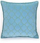 Jessica Simpson Amrita Quatrefoil-Embroidered Square Pillow