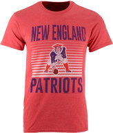 Junk Food Clothing Men's New England Patriots Block Shutter T-Shirt