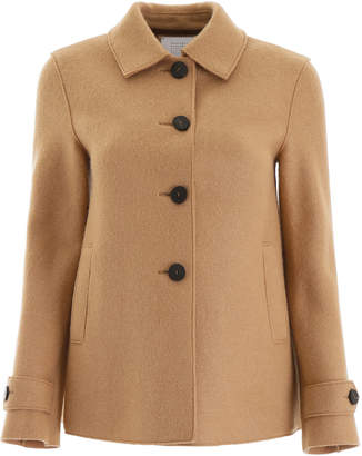 Harris Wharf London Baby Alpaca Loden Jacket