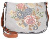 Patricia Nash Cross Stitch Positano Square Saddle Bag