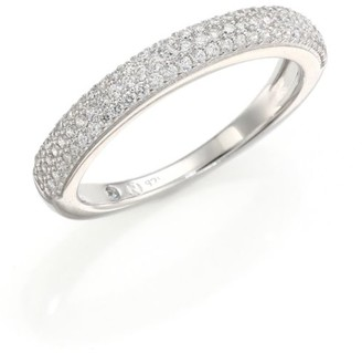 Adriana Orsini Rhodium-Plated Pave Band