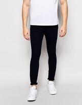 Pull&Bear Super Skinny Jeans In Indigo