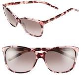 Marc Jacobs Women's 57Mm Oversized Sunglasses - Black