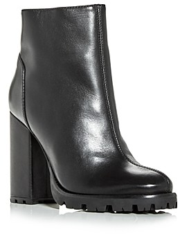 Schutz Women's Nandy High Block Heel Booties