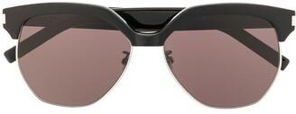 Saint Laurent SL 408 oversized-frame sunglasses
