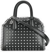Stella McCartney mini Falabella studded box bag - women - Polyester - One Size