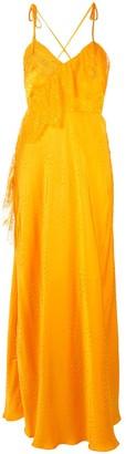Self-Portrait lace detail cami dress