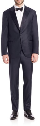 Brunello Cucinelli Wool Tuxedo Suit