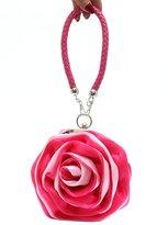 HERRICO Elegant Ladies Clutch Purse Satin Flower Wedding Party Evening Handbags