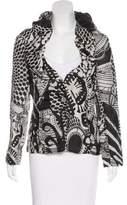 Christian Lacroix Silk Printed Jacket