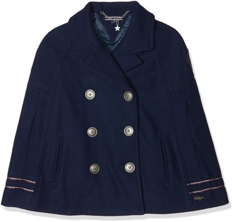 Tommy Hilfiger Girl's Holiday Thkg Wool Cape Jacket