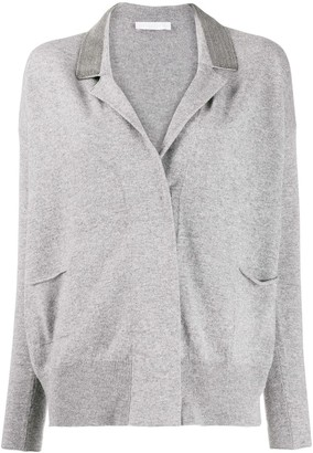 Fabiana Filippi Notched-Lapel Cardigan