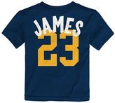 adidas Toddler Cleveland Cavaliers LeBron James Whirlwind Tee