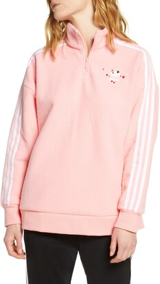adidas Fleece Half Zip Pullover