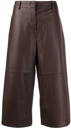 Fabiana Filippi Leather Culottes