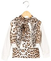Roberto Cavalli Girls' Two-Piece Cardigan Set