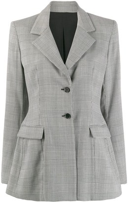 Unravel Project checked blazer
