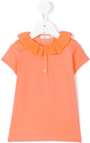 Knot - frill polo - kids - Cotton - 3 yrs
