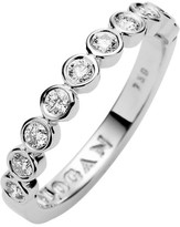 Jan Logan 18ct White Gold Diamond Chenir Band