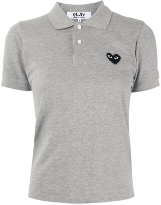 Comme des Garcons Logo Embroidered Polo Shirt