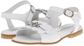 Kid Express Jada (Toddler/Little Kid) (White Leather) - Footwear