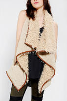 Urban Outfitters Staring At Stars Drapey Sherpa Vest