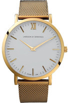 Larsson & Jennings CM Gold polished gold-plated watch