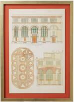 OKA Carroll Architectural Framed Print