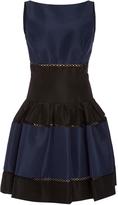 Carolina Herrera Striped Mini Dress