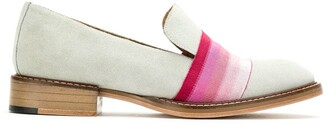 Sarah Chofakian Suede Slippers