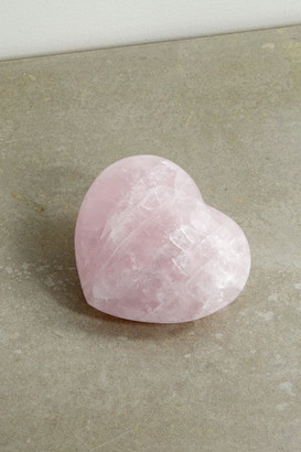 JIA JIA Rose Quartz Heart - Pink