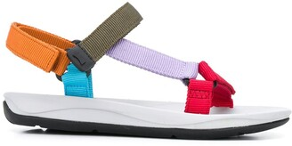Camper Strappy Colour Block Sandals