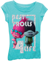 Freeze Trolls Tahiti Blue 'Best Trolls' Tee - Girls