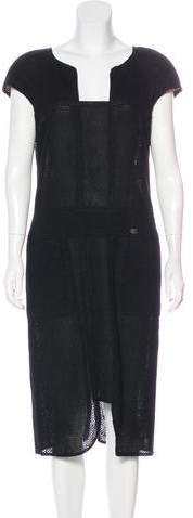 Chanel Knit Sheath Dress