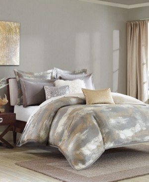 JLA Home Madison Park Signature Graphix King 9 Piece Jacquard Comforter Set Bedding