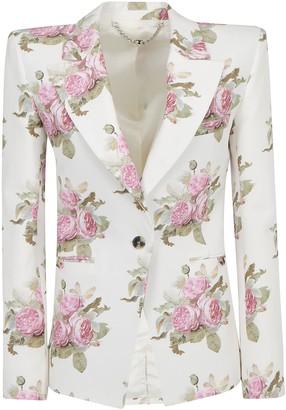 Paco Rabanne Floral Print Blazer
